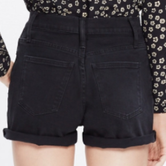 46% off Madewell Pants - Maxwell High-Rise Denim Shorts in Wash ...
