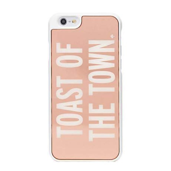 b59165749c405e kate spade Accessories | Toast Of The Town Iphone 6 Case | Poshmark