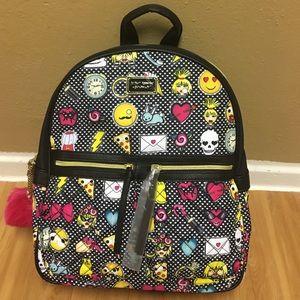 Betsey Johnson Handbags - 🎉HOST PICK01-11-17🎉BETSEY JOHNSON EMOJI BACKPACK