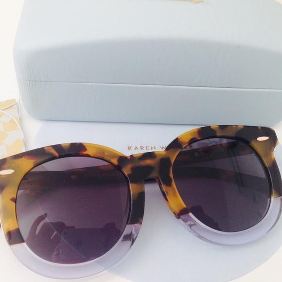 02b6e0f117dc Karen Walker Super Duper Thistle Sunglasses