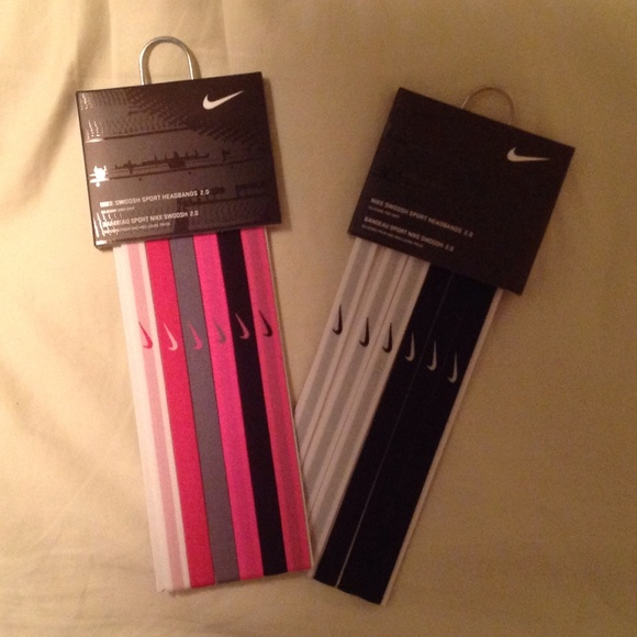 2-6count Nike swoosh sport headbands 2.0 36c1ba11e94