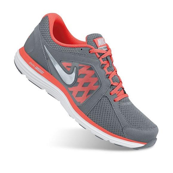 Women's Nike Dual Fusion ST3 Orange & Gray