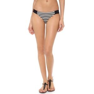 Vitamin A Striped Hipster Bikini Bottoms