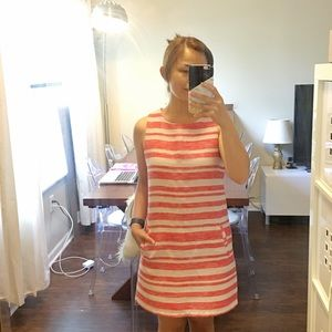 New Cupcakes and Cashmere Striped Shift Dress