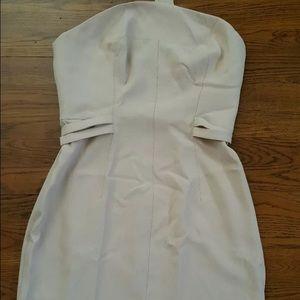 TED BAKER STRAPLESS DRESS