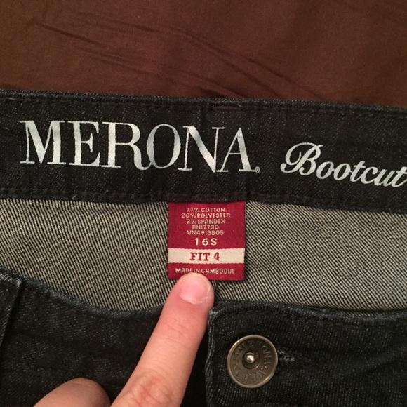 Merona bootcut jeans fit 1