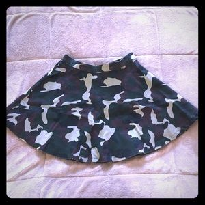 36 point 5 Dresses & Skirts - 👻perfect  for Halloween !Camouflage mini skirt