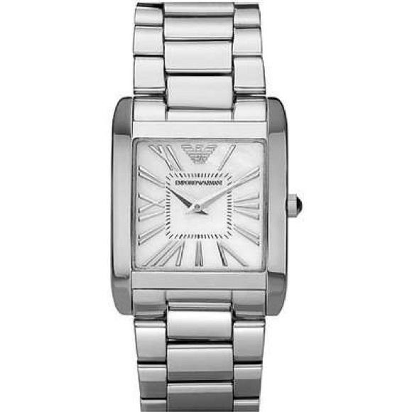 96d7135a133a Emporio Armani Accessories - Emporio Armani authentic silver square face  watch