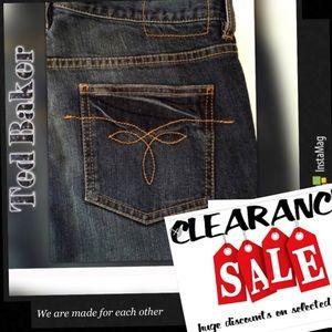 "Clearance ❤️Ted Baker ""Benji"" Women's Jeans"