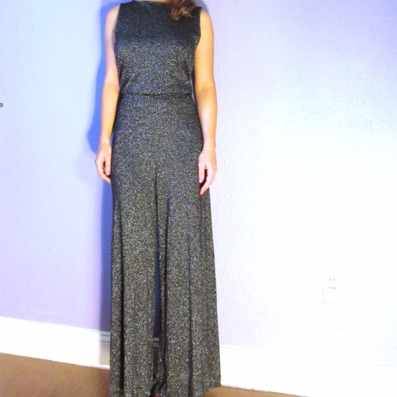 707f1e49008 Alice + Olivia Other - ALICE + OLIVIA sparkly wide leg jumpsuit stretch 6