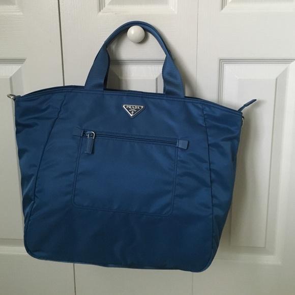 9564790c04a721 Brand new PRADA vela tessuto nylon tote. NWT. Prada. $750 $860. Size
