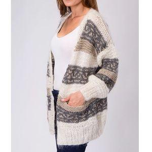 Mes Demoiselles Sweaters - MES DEMOISELLES PARIS Sweater Cardigan Boho Jacket
