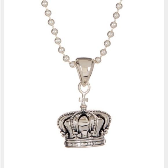 Lagos jewelry crown pendant necklace poshmark lagos crown pendant necklace mozeypictures Images