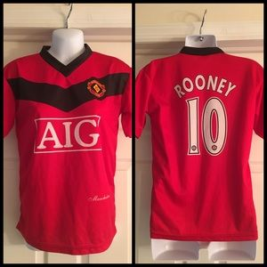 cc2065f46 Manchester United Tops - 💥LAST CALL 💥 Manchester United AIG Rooney Jersey