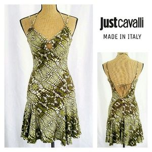 Just Cavalli Dresses & Skirts - Just Cavalli Snake Print Stretchy Dress