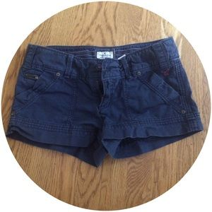 American Eagle Outfitters Pants - navy shorts from American Eagle Outfitters