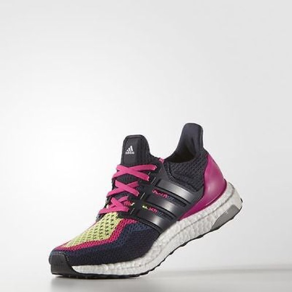 a0b1ce09736 Adidas Shoes - Brand New in Box ADIDAS Ultra Boost Navy Pink W