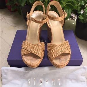 7b3f5e382e71 Stuart Weitzman Shoes - Stuart Weitzman Minx espadrille wedge 7.5
