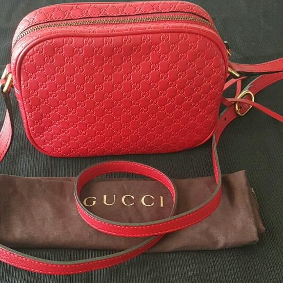 402acf9bace Gucci Sunshine Microguccissima Disco Crossbody. M 5783ed027f0a0515e900dd44