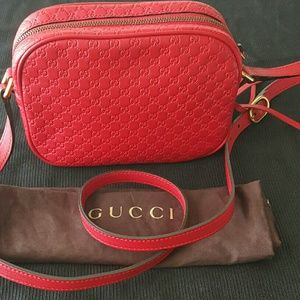 Gucci Handbags - Gucci Sunshine Microguccissima Disco Crossbody