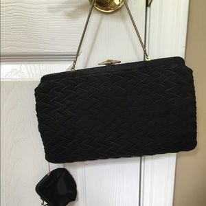 Classy & Soft Vintage Black Formal or Casual Bag