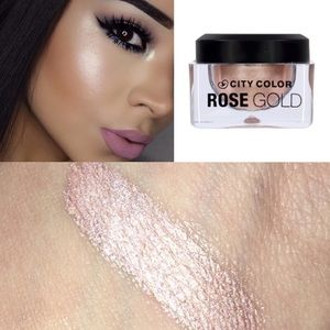 City color Other - ROSE GOLD MULTI PURPOSE HIGHLIGHTING MOUSSE SHADOW