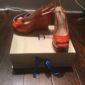 Dee Keller Orange Wedges