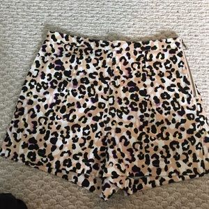Forever 21 leopard shorts worn once