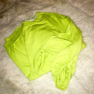 OLD NAVY | Lime Green Sweater