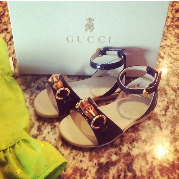 0d6f0b61345 Toddler Gucci sandals💯💯💯