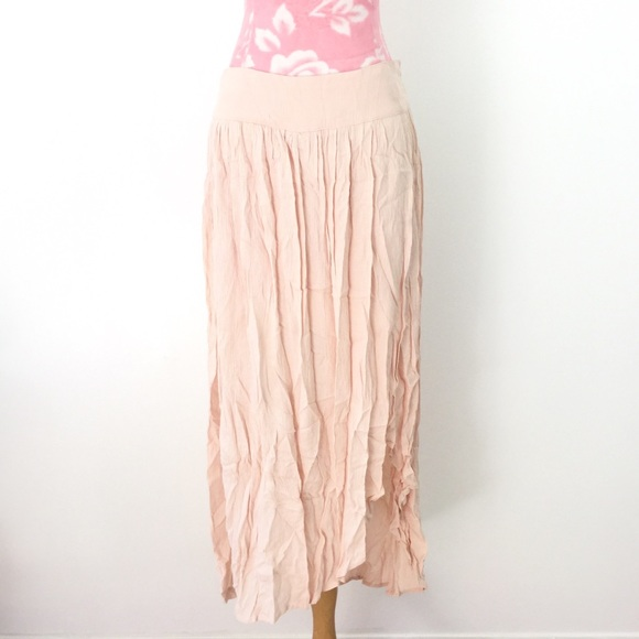 75% off Blu Pepper Dresses & Skirts - 🌸pale pink maxi skirt from ...