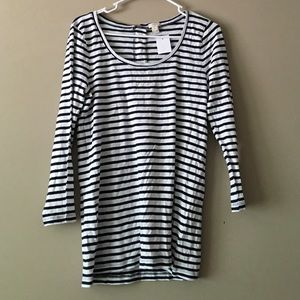 NWT! JCREW striped top size Large