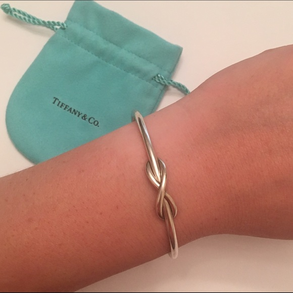 f57b82364 Tiffany & Co. Jewelry | Tiffany Co Infinity Cuff Bracelet | Poshmark