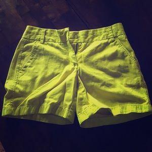 J. Crew chino shorts!