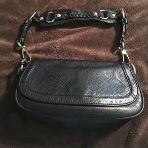Donating soon! Buttery soft BR black shoulder bag