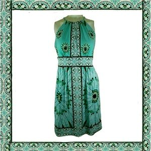 Maggy London turquoise dress
