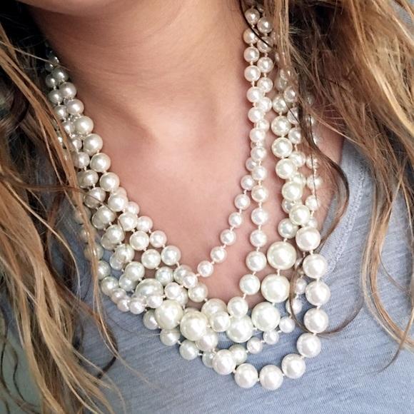 J. Crew Jewelry - J. Crew Hammock Pearls