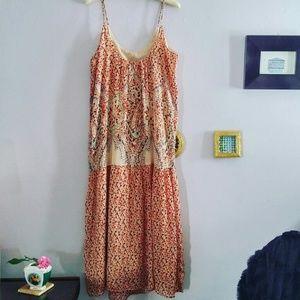 Mes Demoiselles Dresses & Skirts - Silk Boho Dress