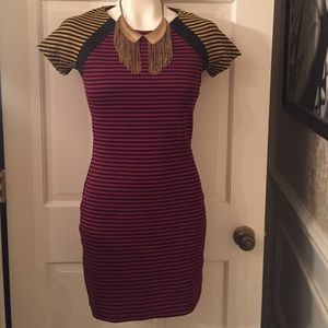 Lucca Couture Dresses & Skirts - Stripe Me Up Dress