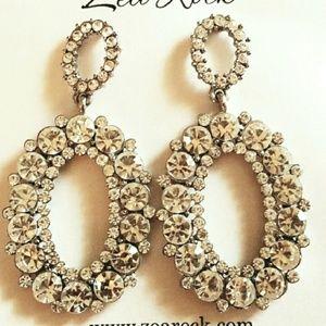 Ball stone earrings