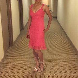Pink ted baker dress
