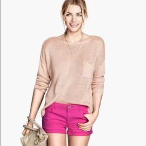H&M Pants - H&M Pink Shorts with Pockets!