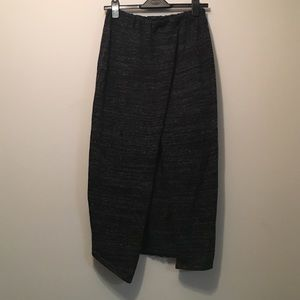 Zara Knit Skirt with Front Slit