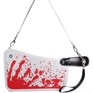 🚨FINAL PRICE Bloody Cleaver Hatchet Clutch