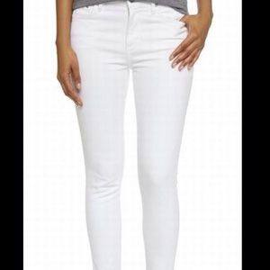 Citizens of Humanity Pants - Citizens of Humanity Rocket Crop in Optic White