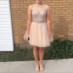 Mori Lee size 0! Short homecoming dress