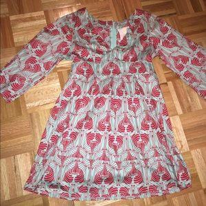 Tulle kimono dress