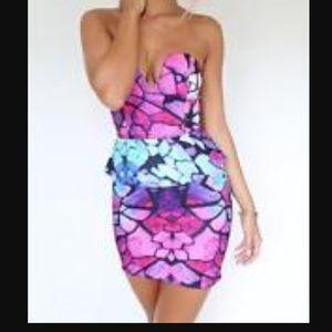Sabo skirt 2 piece corset dress