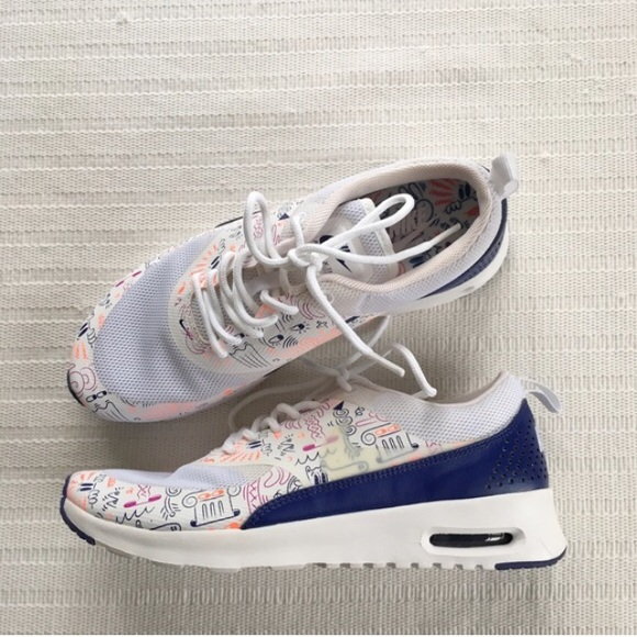 official images fashion styles the sale of shoes Women's Nike Air Max Thea Print Shoes NWT