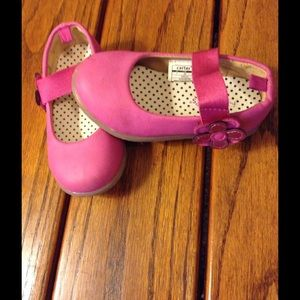 Carter's Other - CARTER's PINK Daisy Mary Jane Shoe 7
